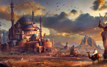 Fantasy - City Wallpapers and Backgrounds ID : 472777