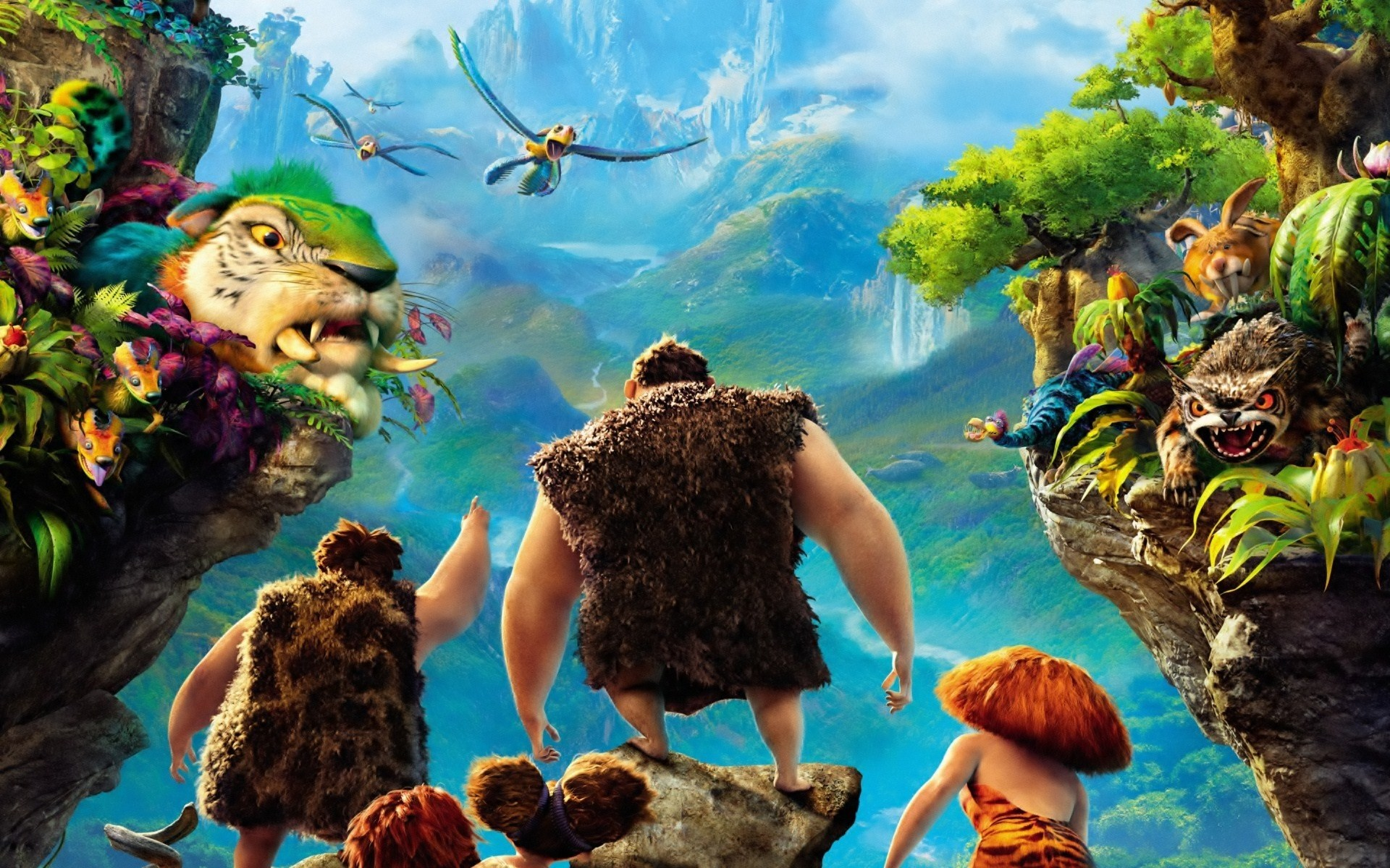 The croods full hd wallpaper and background image 1920x1200 id movie the croods wallpaper voltagebd Images