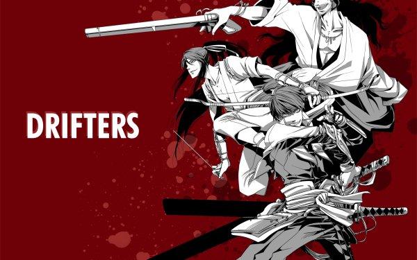 Anime Drifters Nobunaga Nasu Suketaka Yoichi HD Wallpaper   Background Image
