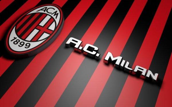 Sports A.C. Milan Soccer Club HD Wallpaper   Background Image