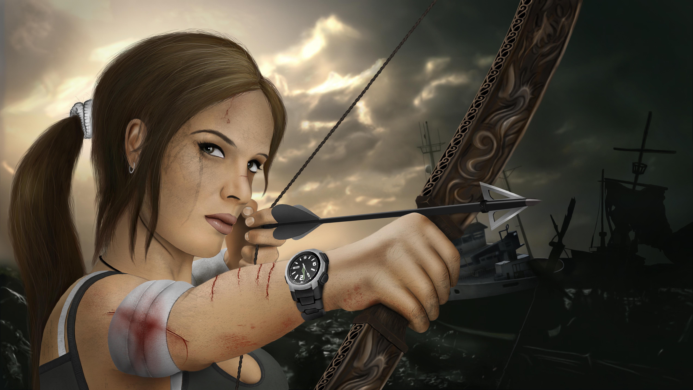 Tomb Raider 5k Retina Ultra HD Papel De Parede And