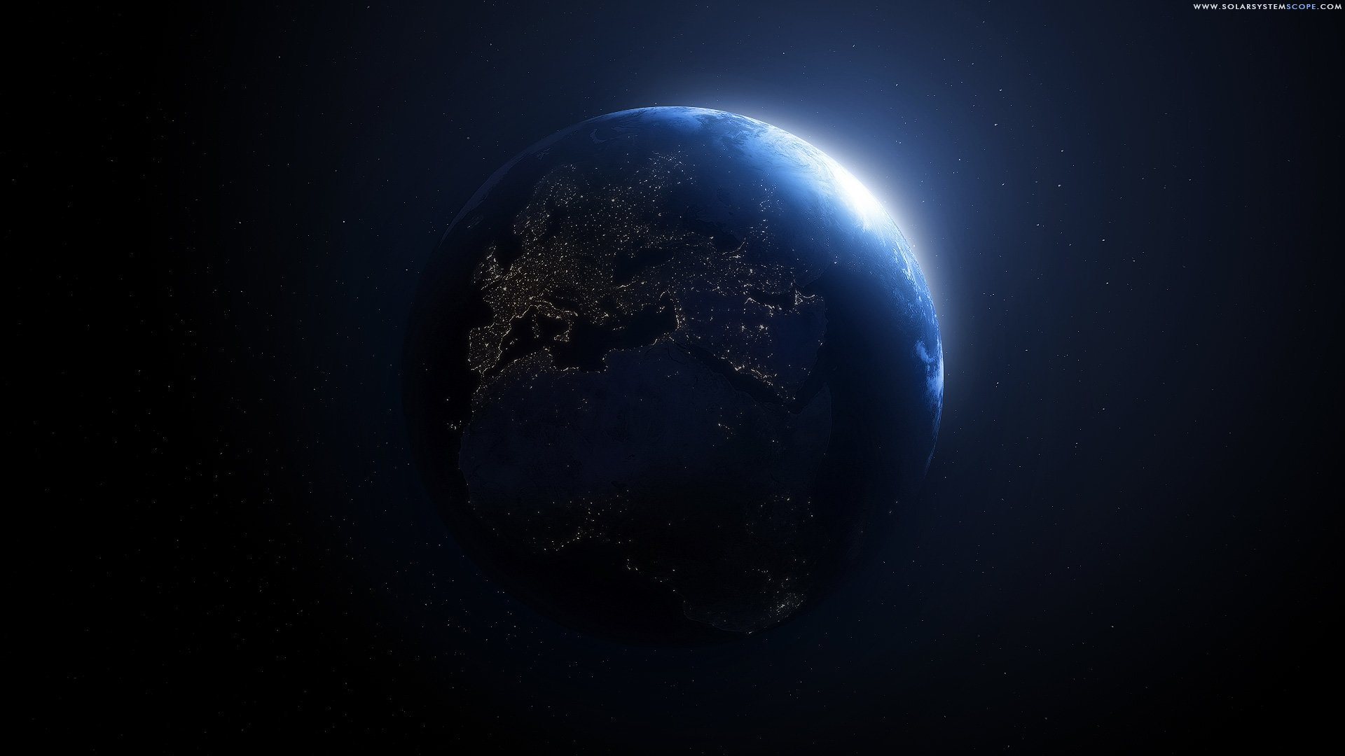 Blue Planet Hd Wallpaper Hintergrund 1920x1080 Id