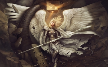 Fantasy - Angel Warrior Wallpapers and Backgrounds ID : 477862
