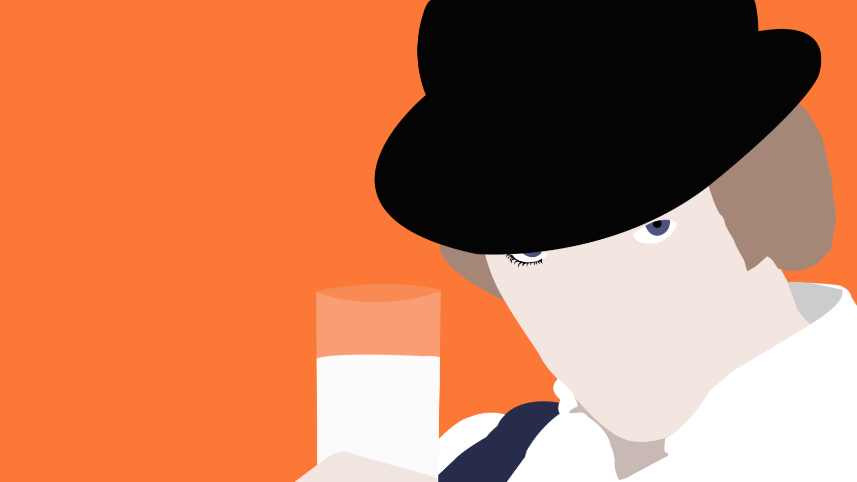 Clockwork Orange Wallpaper and Background Image | 1680x945 ... A Clockwork Orange Wallpaper 1920x1080