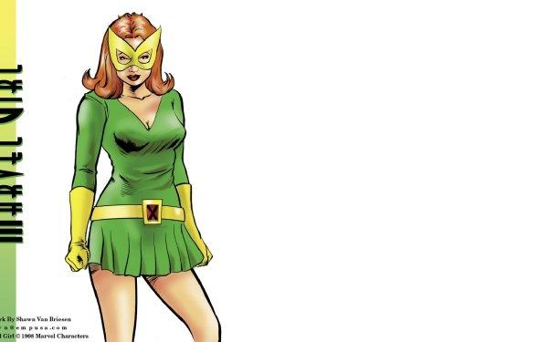 Comics X-Men Marvel Girl Jean Grey Red Hair Mutant HD Wallpaper   Background Image