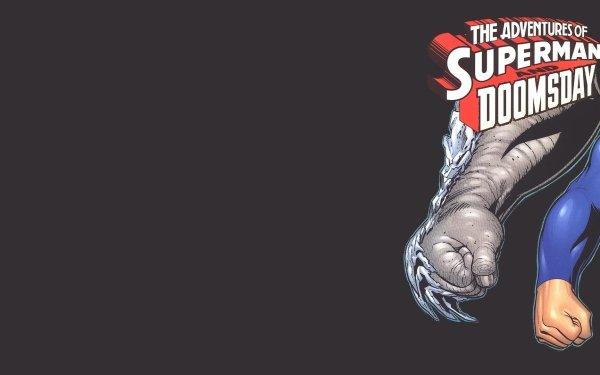 Comics Adventures Of Superman Superman DC Comics Doomsday HD Wallpaper   Background Image