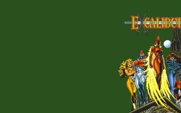 Comics Excalibur Captain Britain HD Wallpaper | Background Image
