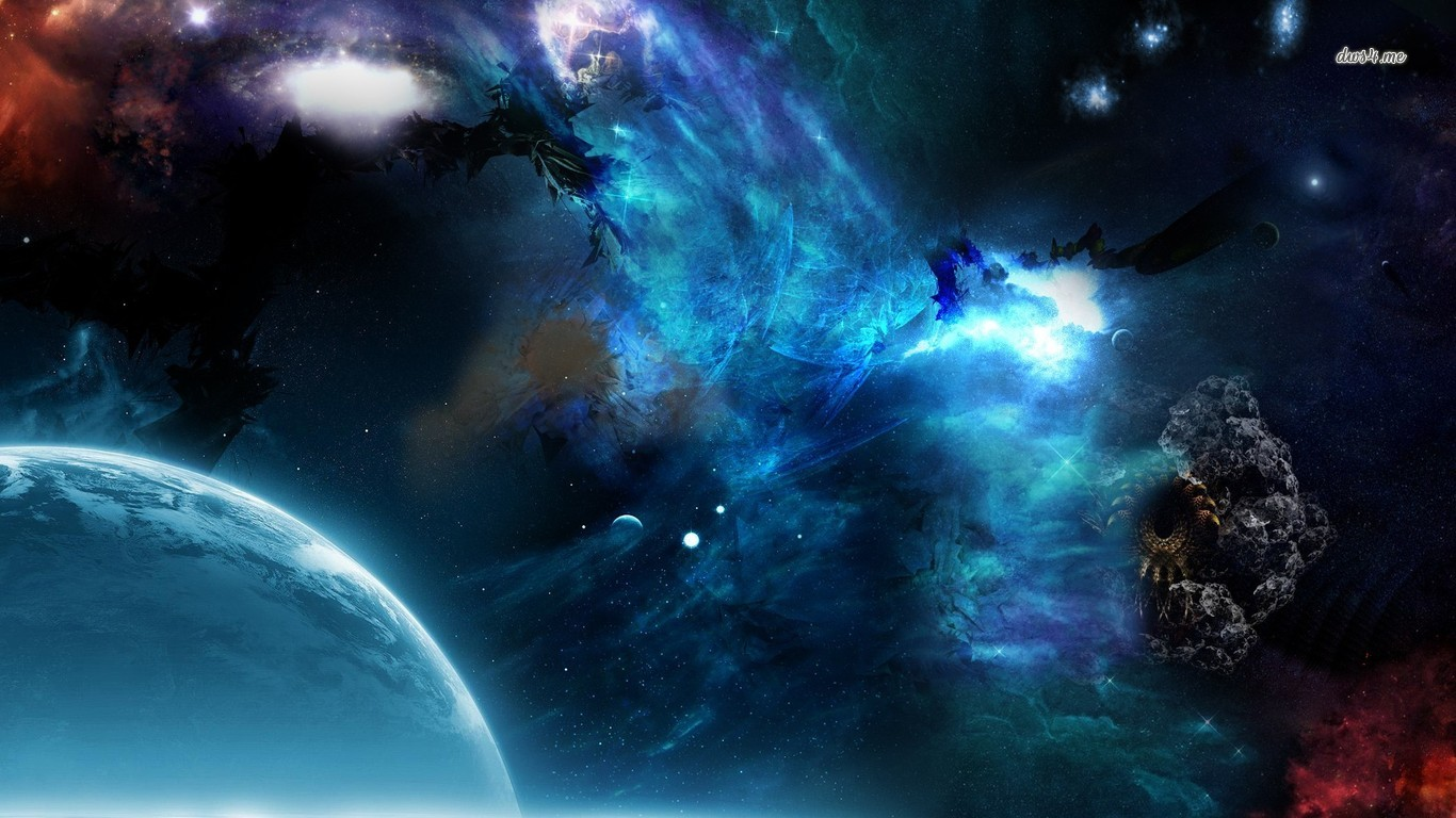 Space wallpaper and background image 1366x768 id - Wallpaper 1366x768 space ...
