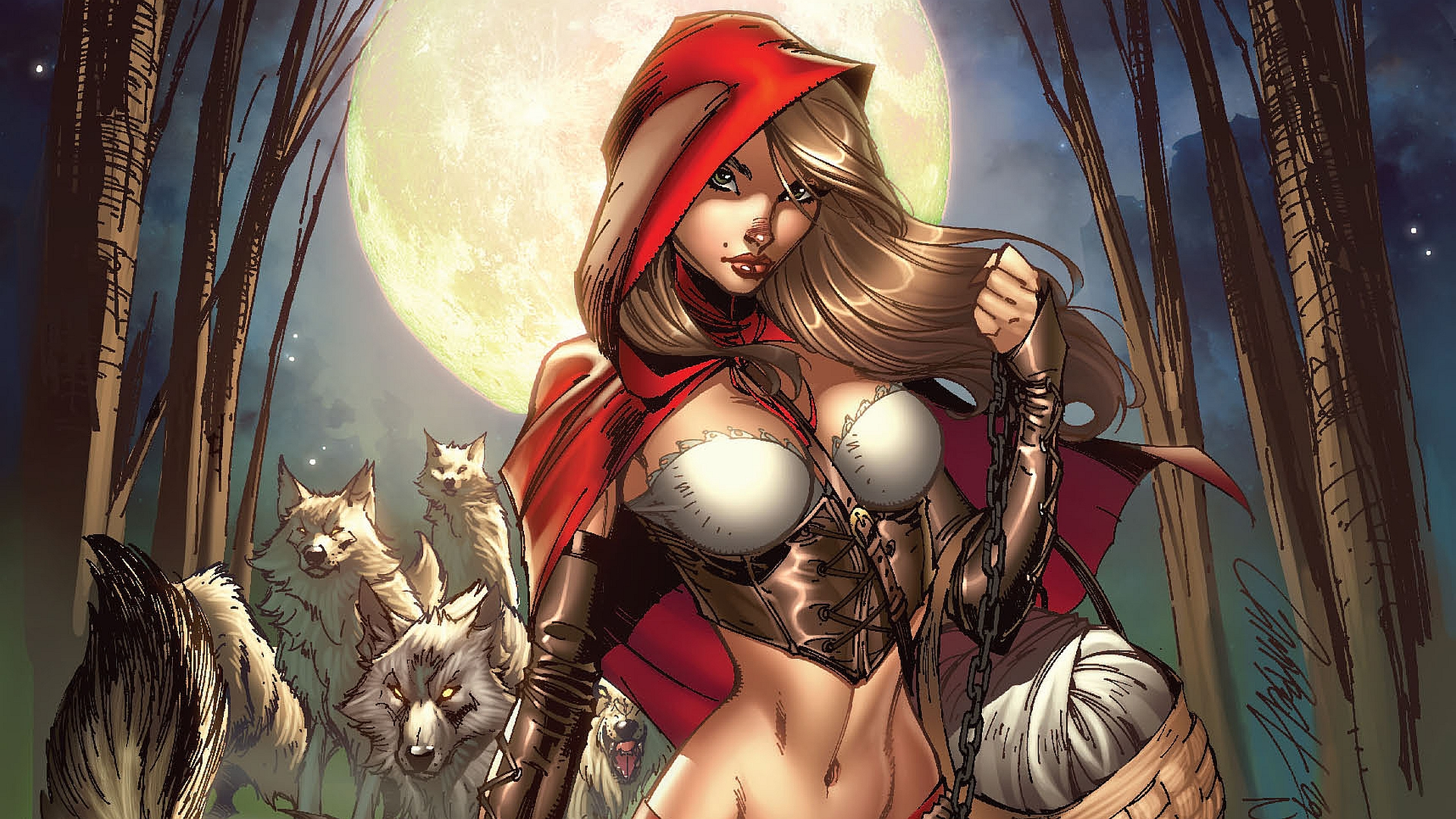 female grimm fairy tales wallpaper -#main
