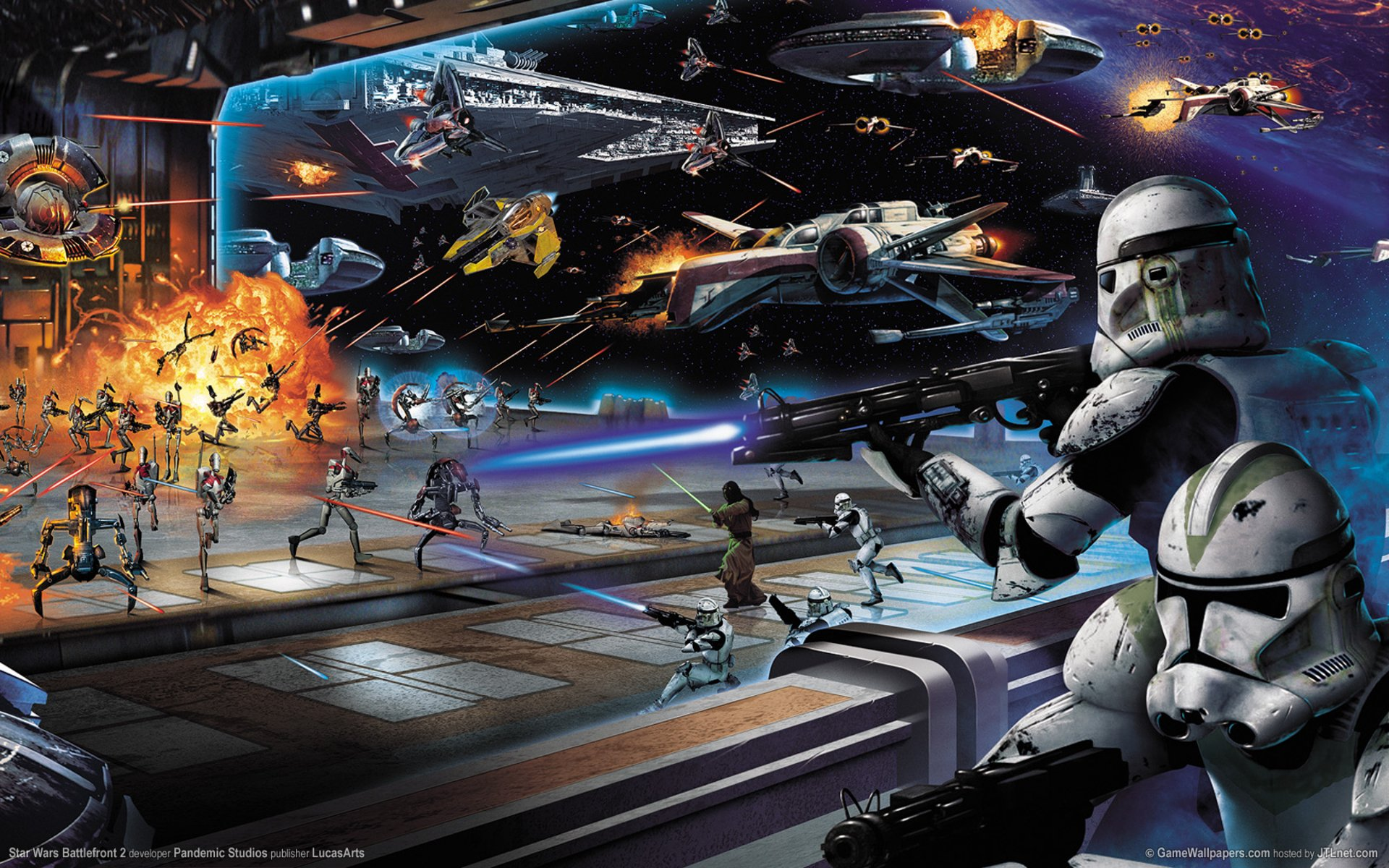 Star Wars: Battlefront II HD Wallpapers