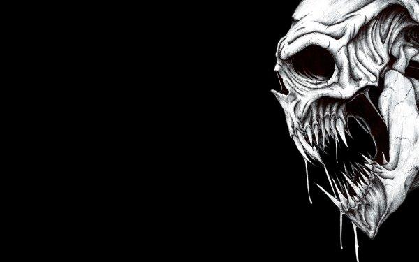 Dark Skull HD Wallpaper | Background Image