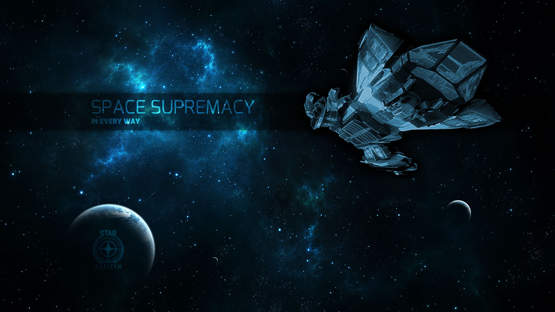 Space Supremacy Full HD Wallpaper And Background Image
