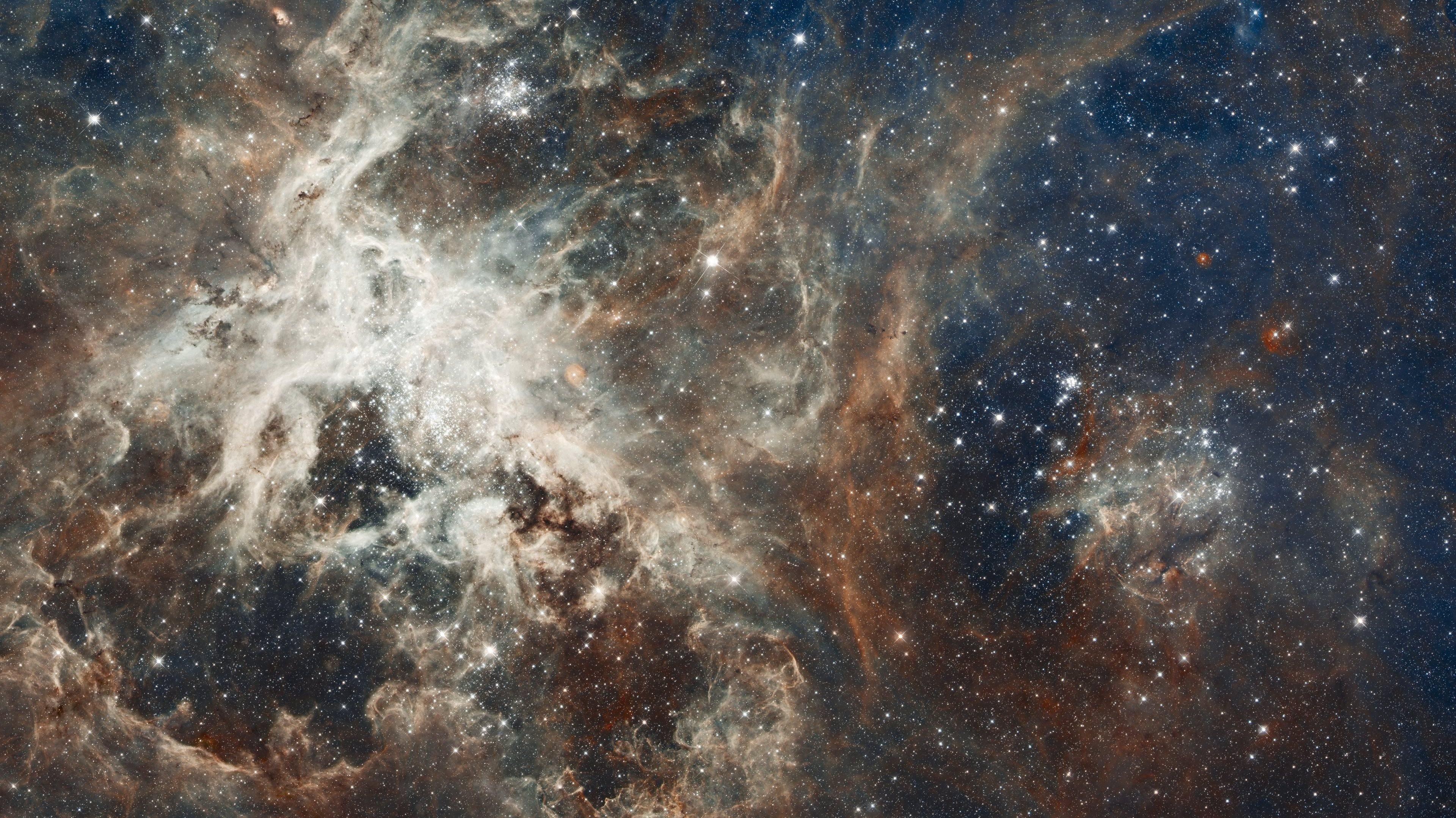 Tarantula Nebula Taken By The NASA Hubble Space Telescope 4k Ultra