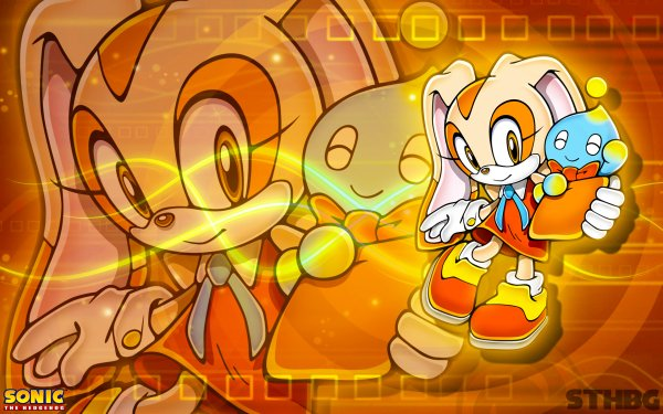 Video Game Sonic the Hedgehog Sonic Cream the Rabbit Cheese the Chao HD Wallpaper | Background Image