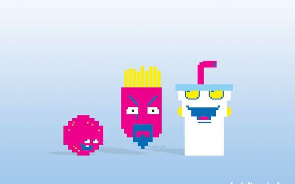 Cartoon - aqua teen hunger force Wallpapers and Backgrounds