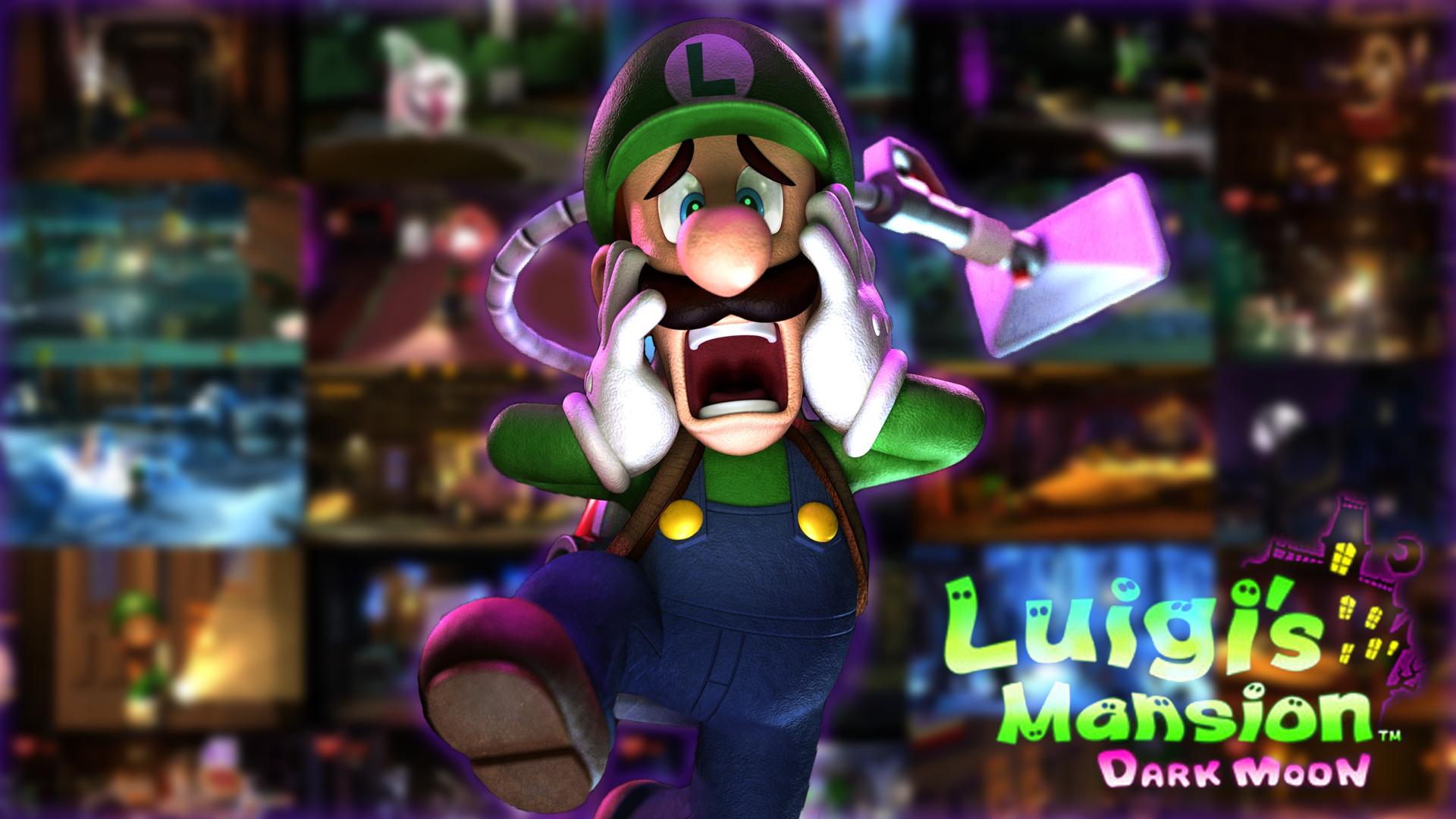 HD Wallpaper | Background Image ID:487037. 1920x1080 Video Game Luigi's Mansion