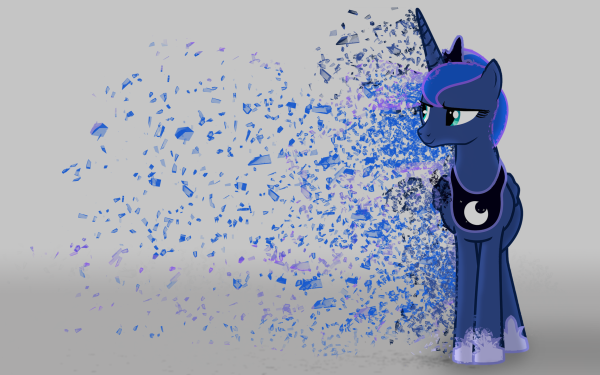 TV Show My Little Pony: Friendship is Magic My Little Pony Princess Luna Vector HD Wallpaper | Background Image