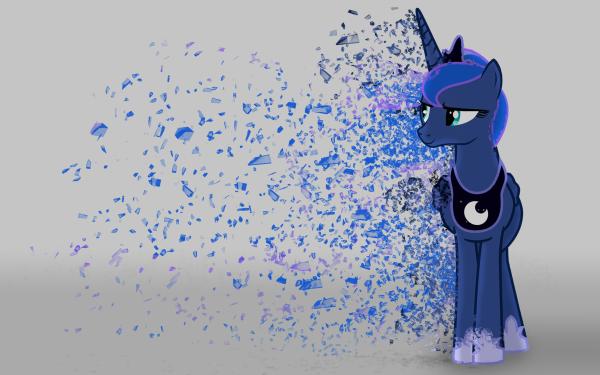 Series de Televisión My Little Pony: La magia de la amistad My Little Pony Princess Luna Vector Fondo de pantalla HD | Fondo de Escritorio
