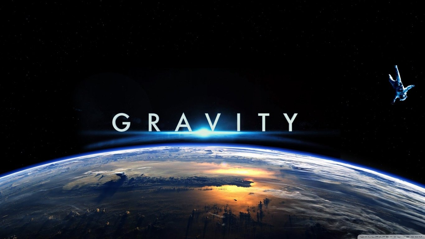 Image result for gravity movie poster 4k