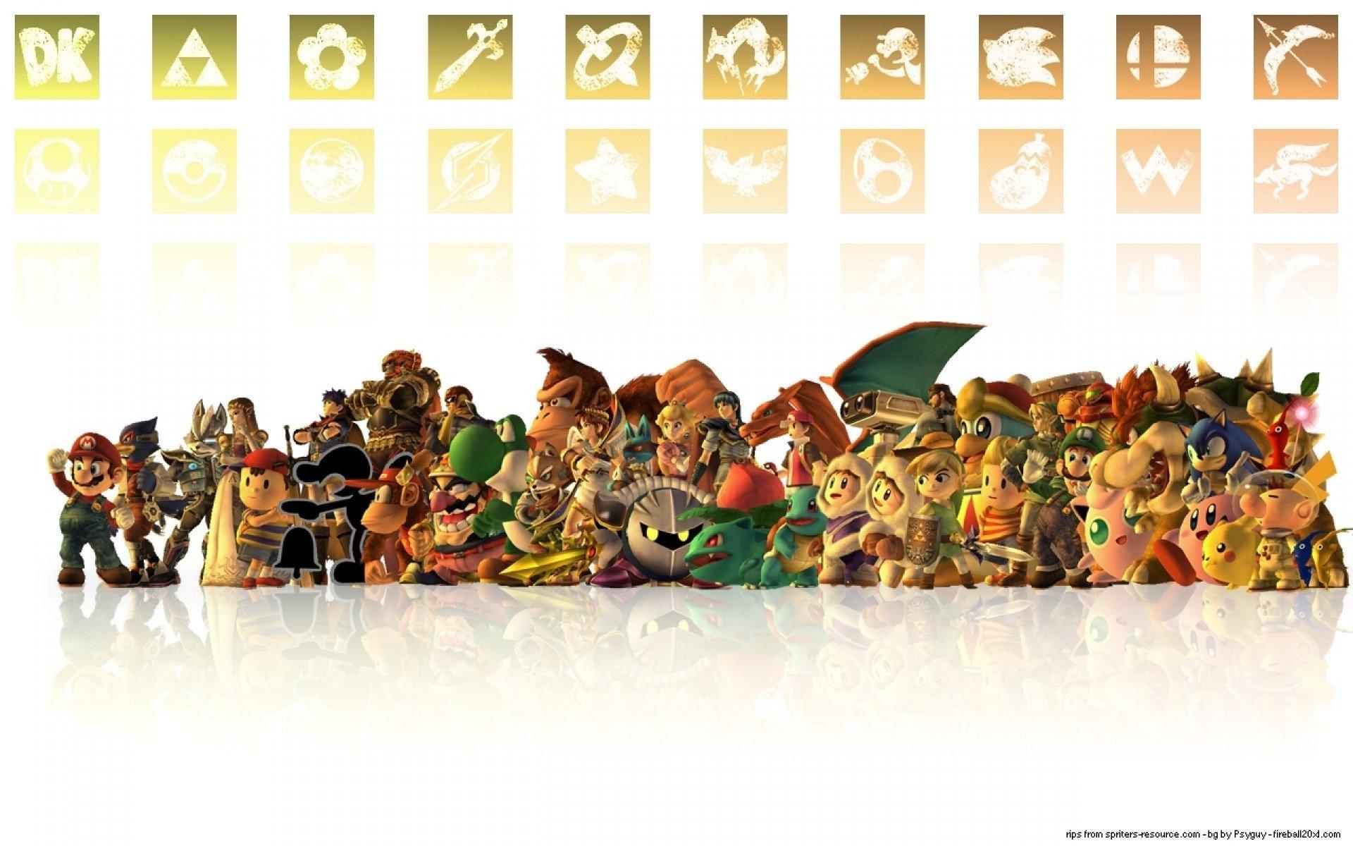 Super Smash Bros Brawl Hd Wallpaper Background Image 1920x1200