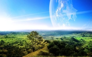 Научная фантастика - Planet Rise Wallpapers and Backgrounds ID : 488166