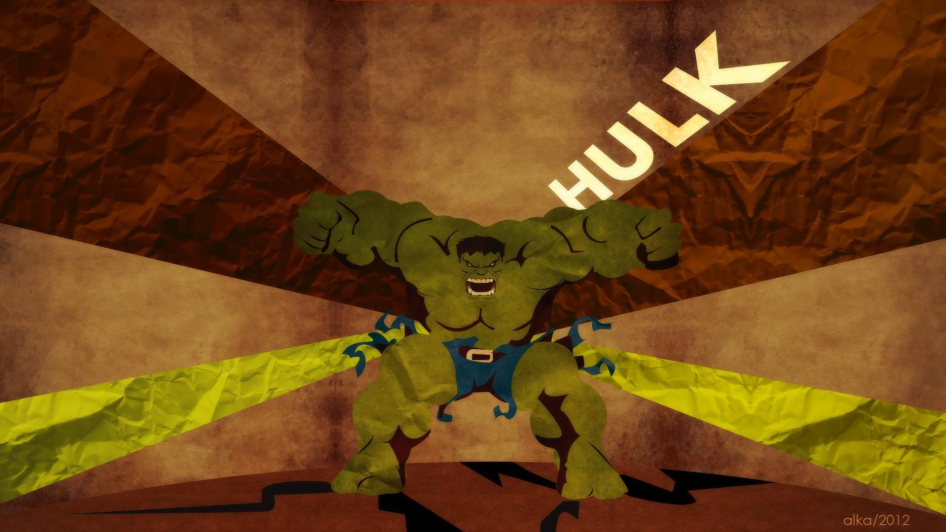 Hulk hd wallpaper background image 1920x1080 id - Marvel retro wallpaper ...