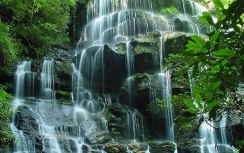 Earth - Waterfall Wallpapers and Backgrounds ID : 489027