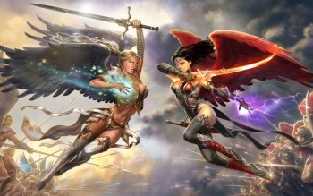 Fantasy - Angel Warrior Wallpapers and Backgrounds ID : 489577