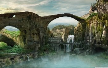 Fantasy - City Wallpapers and Backgrounds ID : 490367