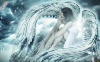 Fantasy - Angel Wallpapers and Backgrounds ID : 490813