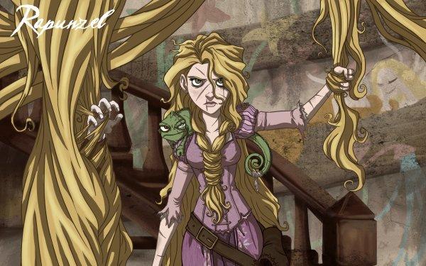 Fantaisie Rapunzel Fond d'écran HD   Arrière-Plan