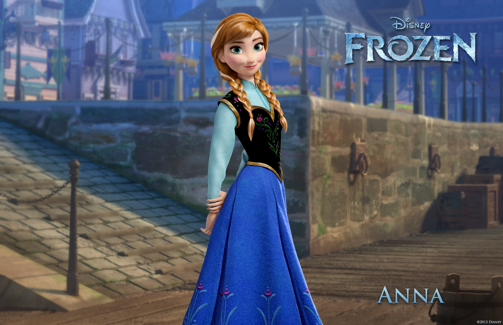 Movie - Frozen  Frozen (Movie) Anna (Frozen) Arendelle Wallpaper