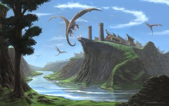 Fantasy - Drachen Wallpapers and Backgrounds