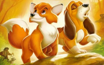 Cartoni - The Fox And The Hound Wallpapers and Backgrounds ID : 491963