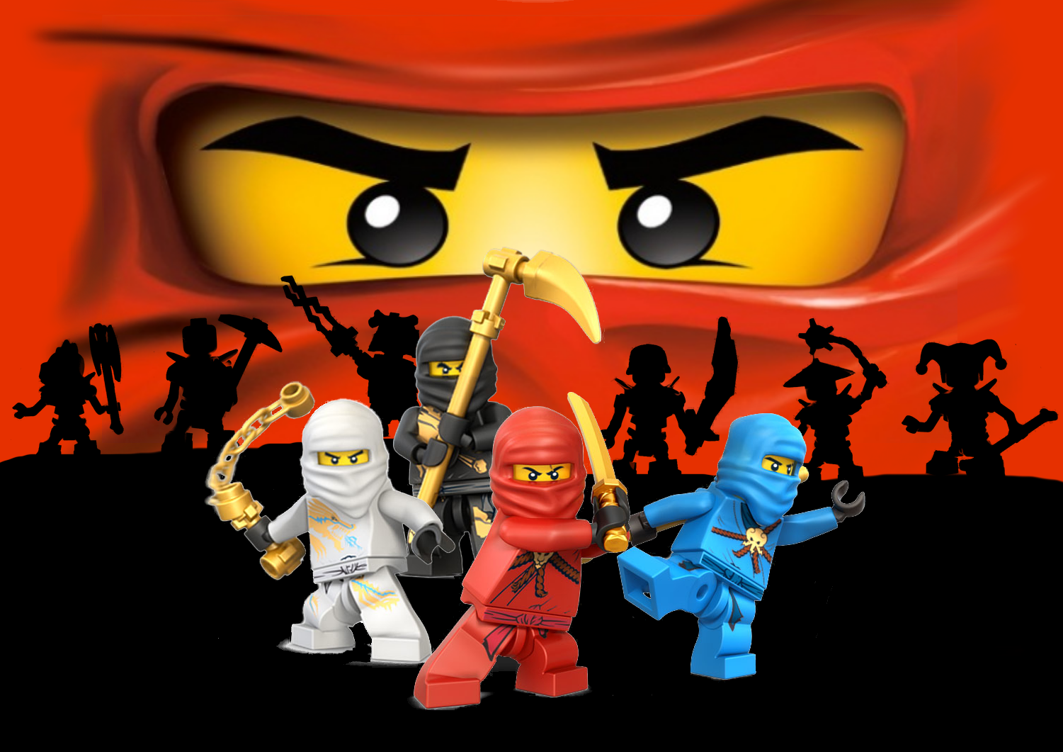 Lego Ninjago Masters Of Spinjitzu Wallpaper And