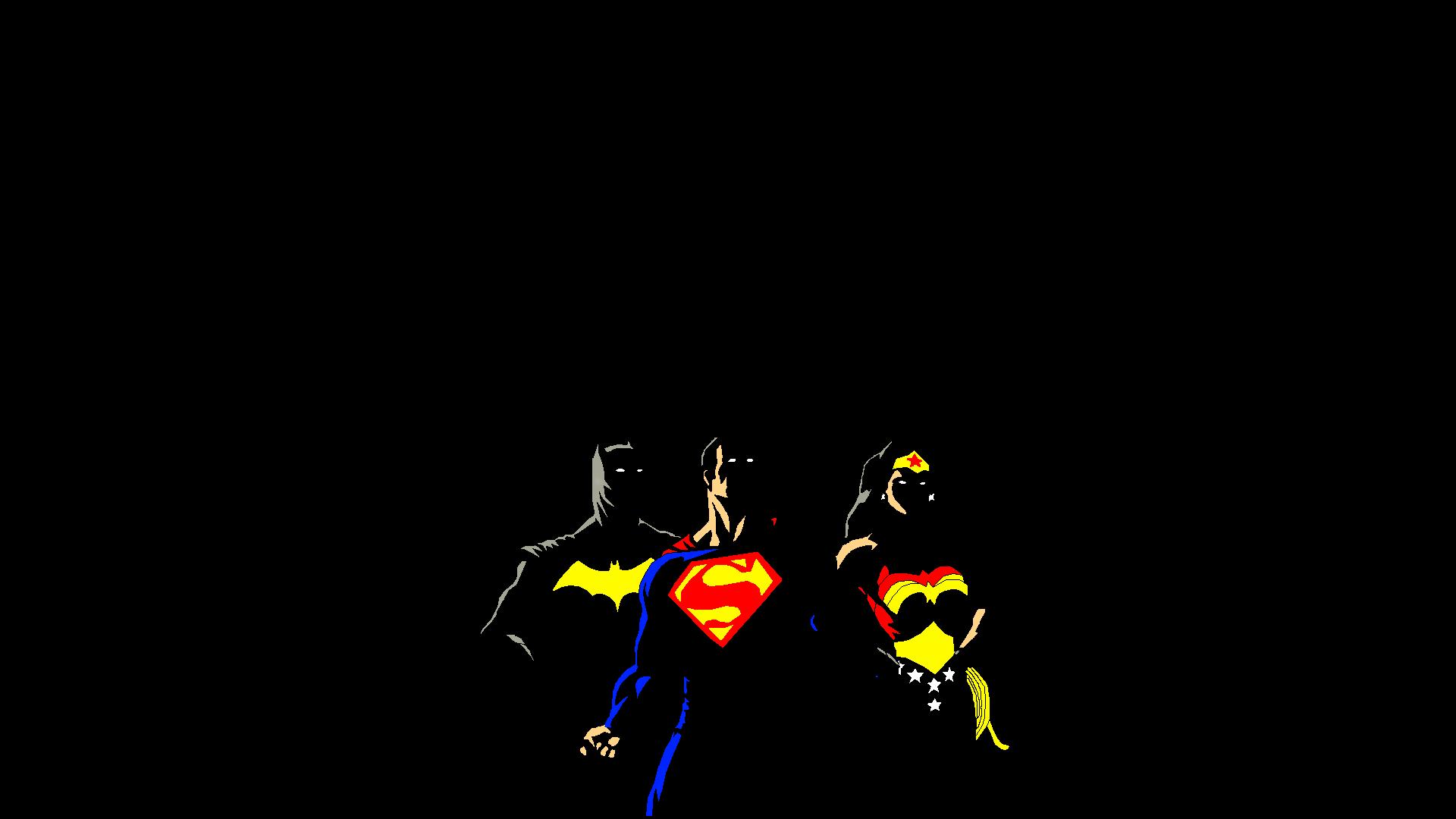 Batman/Superman/WonderWoman Full HD Fondo De Pantalla And