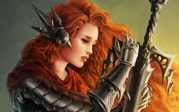 Fantasy - Women Warrior Wallpapers and Backgrounds ID : 492547