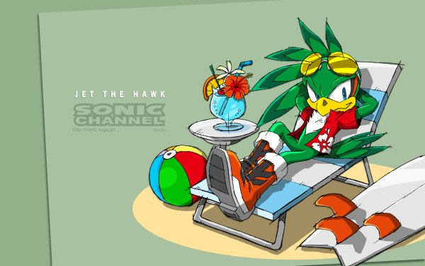 Video Game Sonic the Hedgehog Sonic Jet the Hawk Sonic Channel HD Wallpaper | Background Image