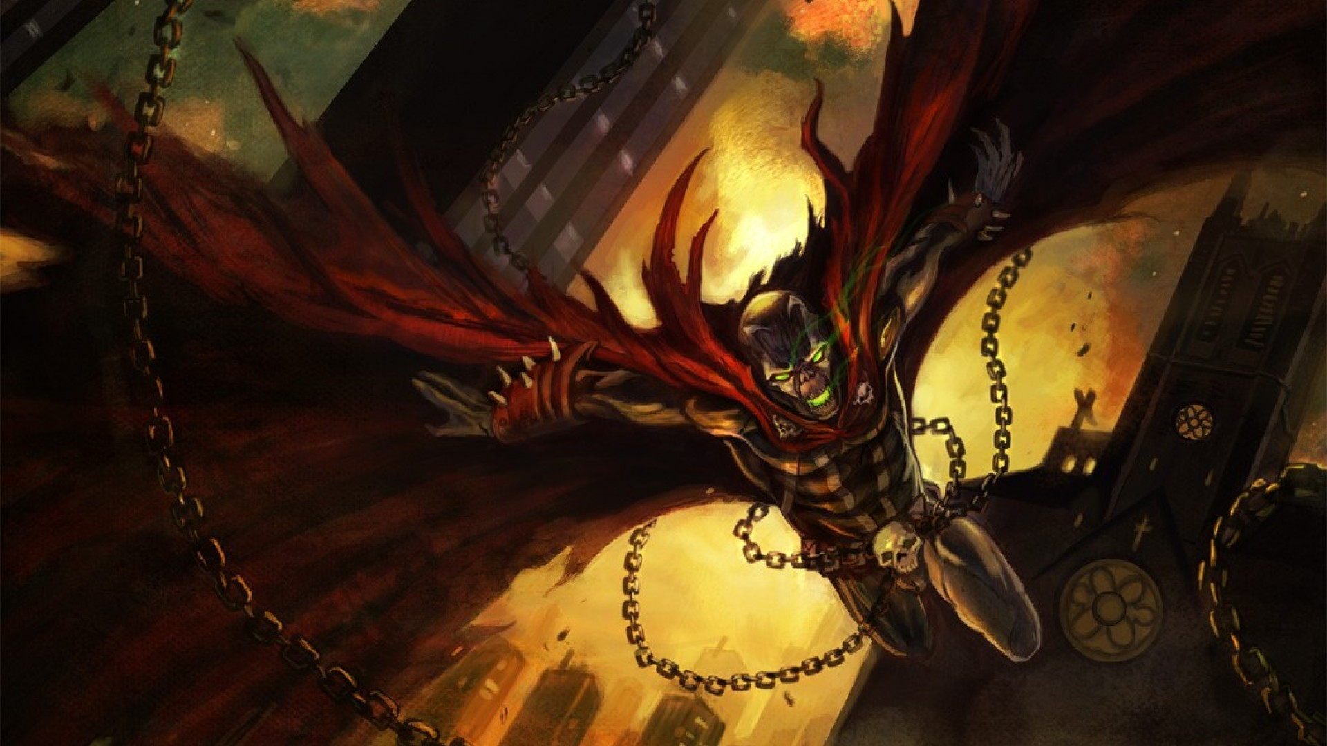 spawn wallpapers 1920x1080 - photo #2