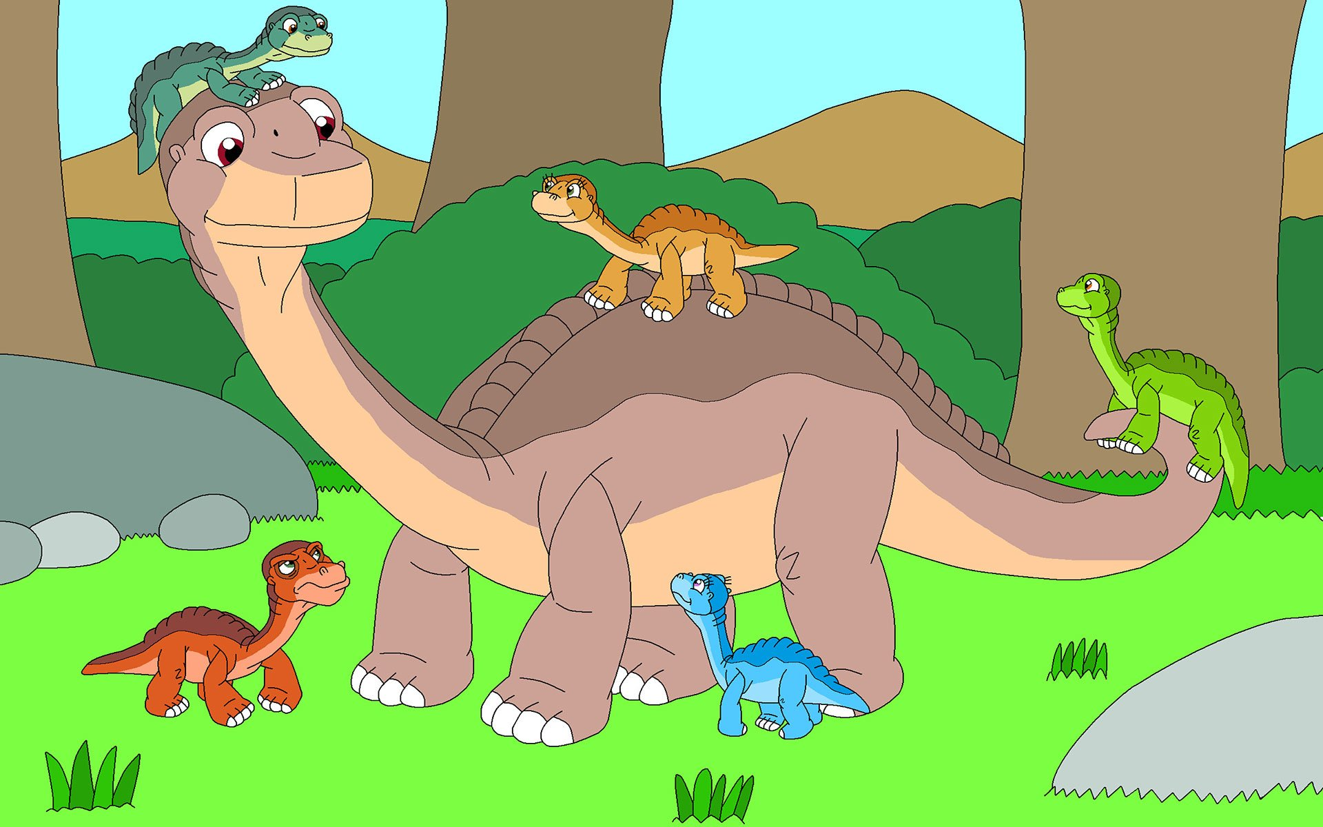 The Land Before Time Hd Wallpaper Background Image 1920x1200