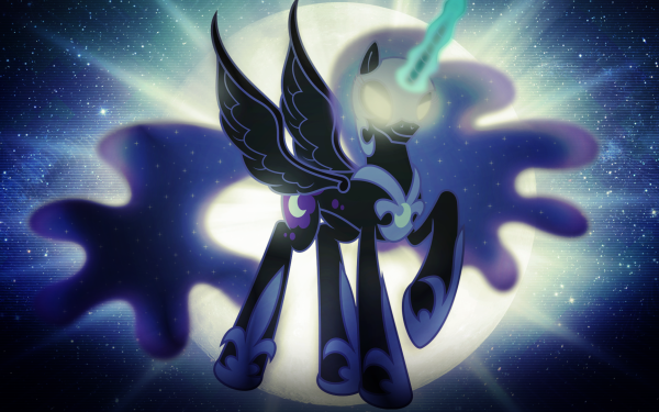 TV Show My Little Pony: Friendship is Magic My Little Pony Nightmare Moon Vector HD Wallpaper | Background Image