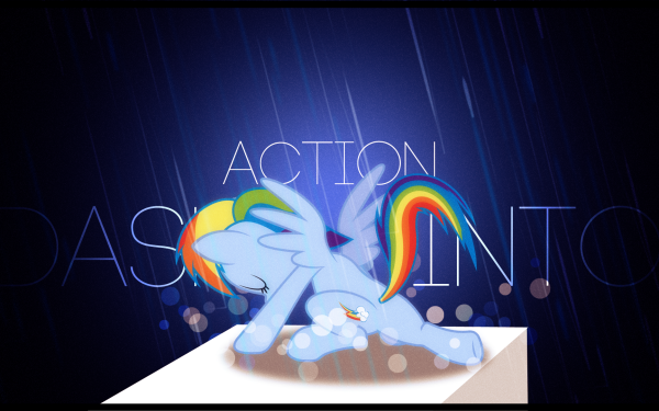 TV Show My Little Pony: Friendship is Magic My Little Pony Rainbow Dash Vector HD Wallpaper   Background Image