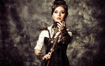 Vrouwen - Steampunk Wallpapers and Backgrounds ID : 495294