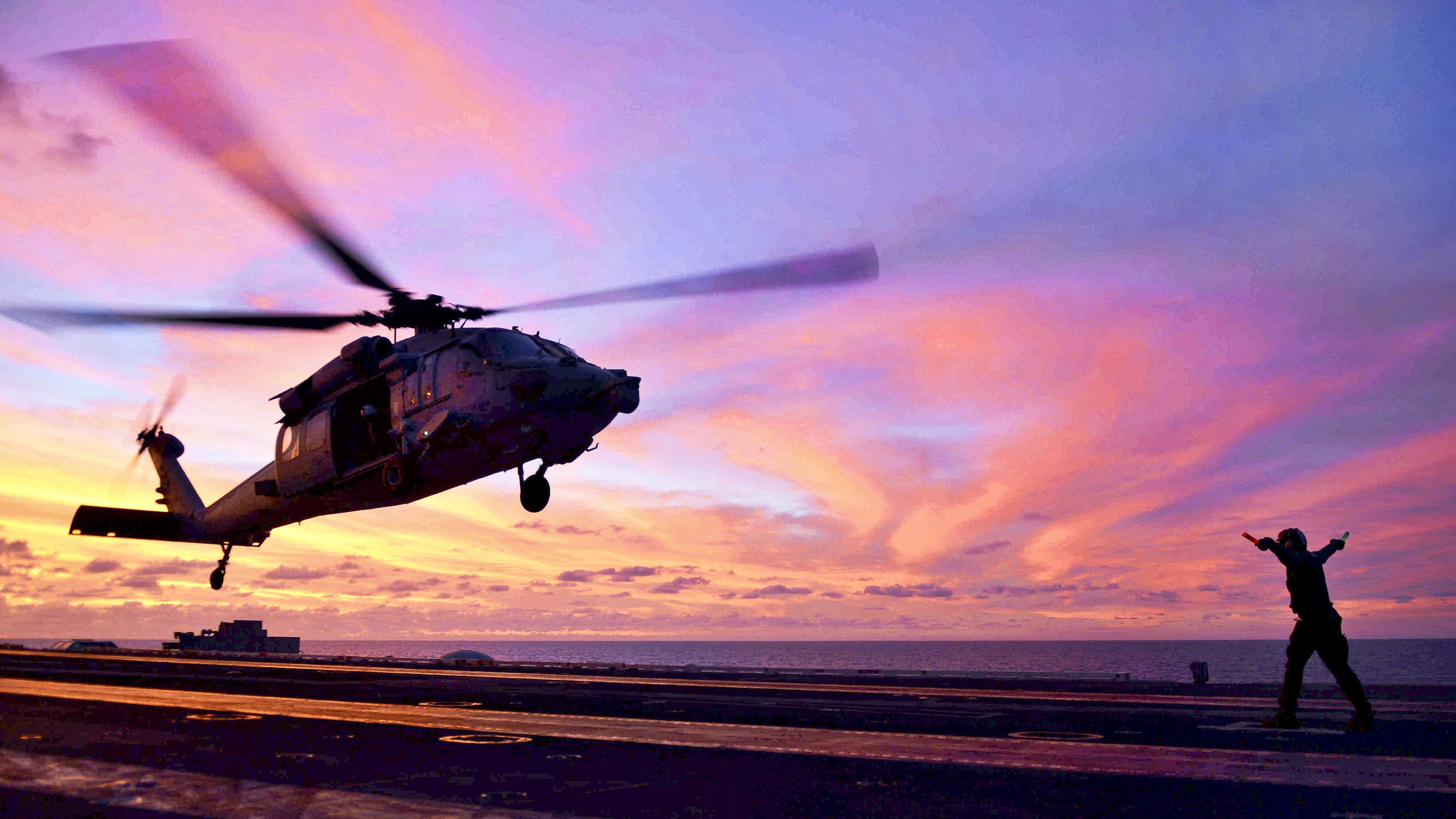 Military Helicopter 4k Hd Desktop Wallpaper For 4k Ultra: Sikorsky SH-60 Seahawk 4k Ultra HD Wallpaper