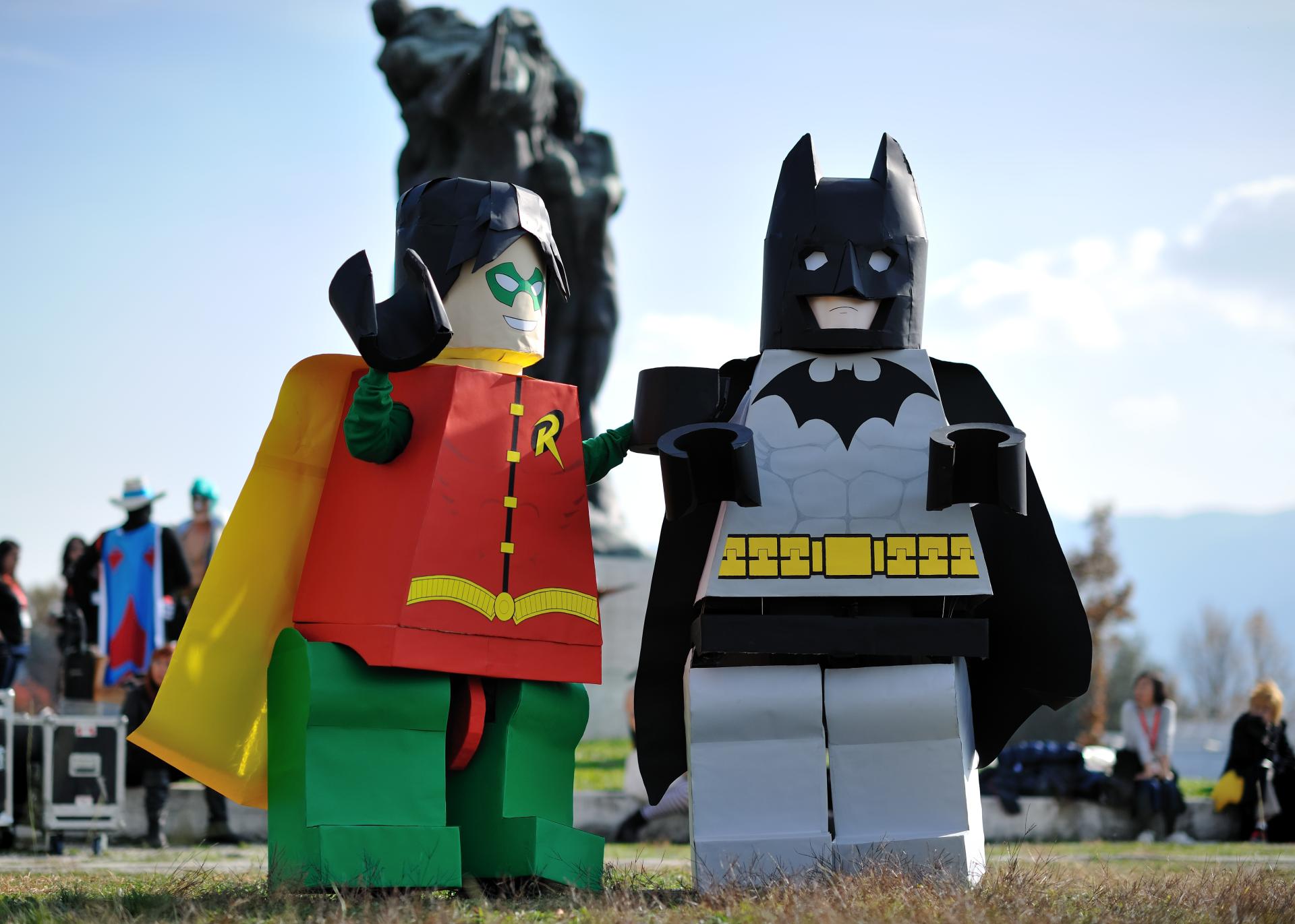 Men - Cosplay  Lego Batman Robin (DC Comics) Wallpaper
