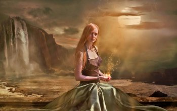 Fantasy - Women Wallpapers and Backgrounds ID : 498508