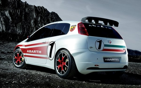 Vehicles Fiat Grande Punto Abarth Fiat HD Wallpaper | Background Image