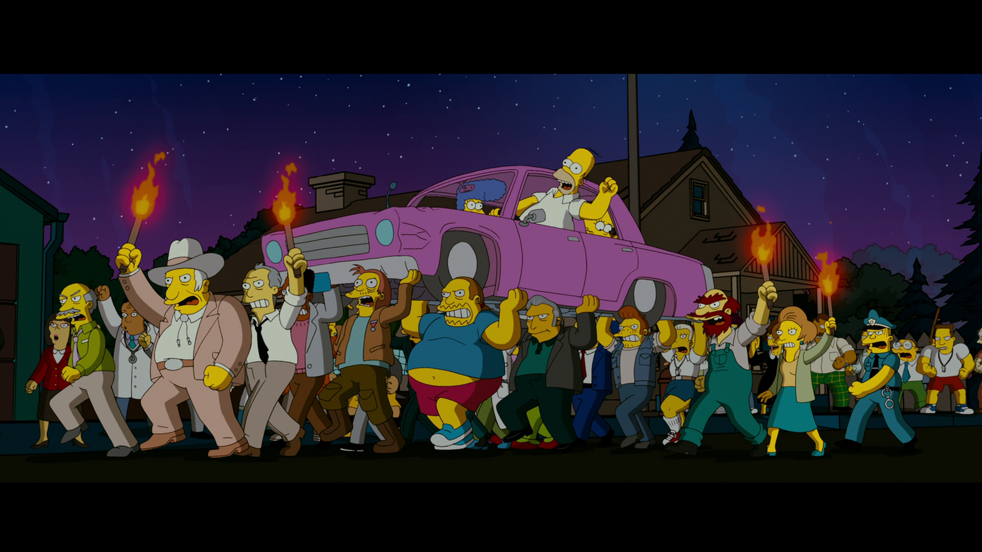 The Simpsons Movie Hd Wallpaper Background Image 1920x1080 Id 499280 Wallpaper Abyss