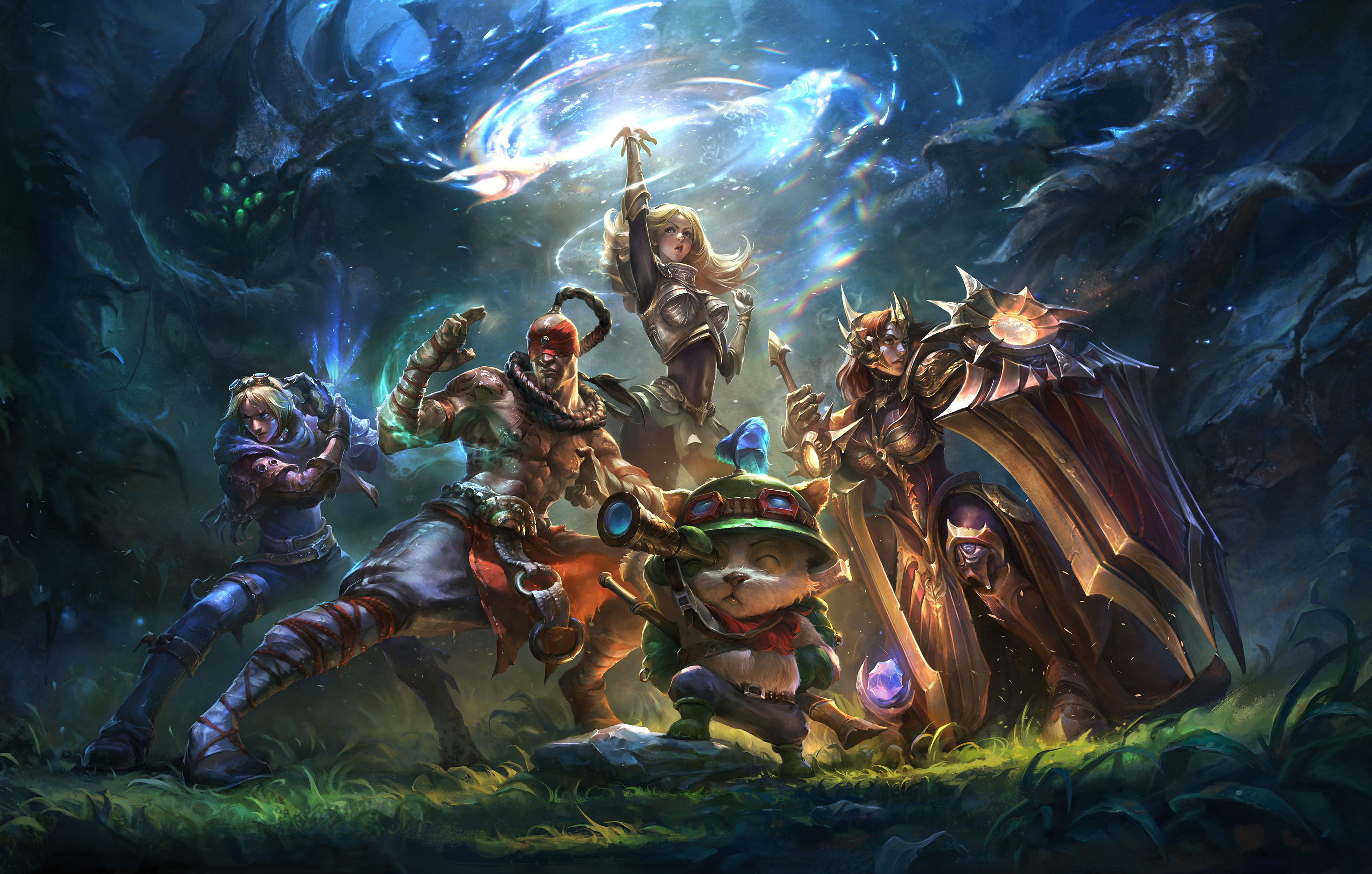 League Of Legends Papel De Parede HD