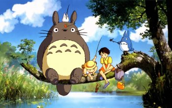 Фильм - My Neighbor Totoro Wallpapers and Backgrounds ID : 499590